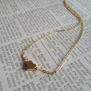 14 K Gold Personalized Heart Neckla..